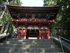 徳川家康が埋葬された、国宝久能山東照宮へ
