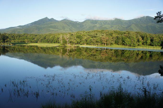 知床五湖で一番の眺め、「二湖」