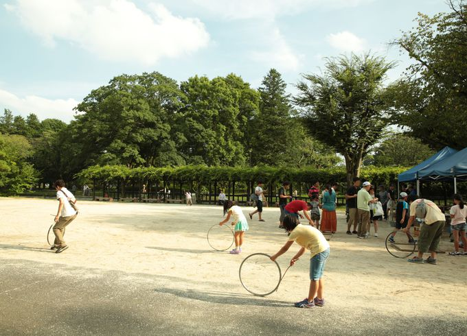 無料のテーマパーク《小金井公園》小金井市/小平市/西東京市/武蔵野市