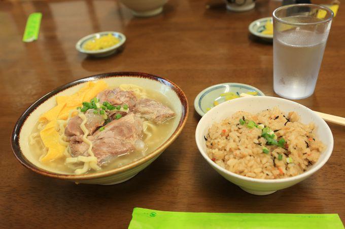 """ザ・沖縄の""""ソーキ""""が食べられる!穴場の名店「浜屋」"""
