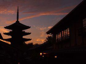 京都らしい建物とのコラボも素敵!夕焼けスポット10選