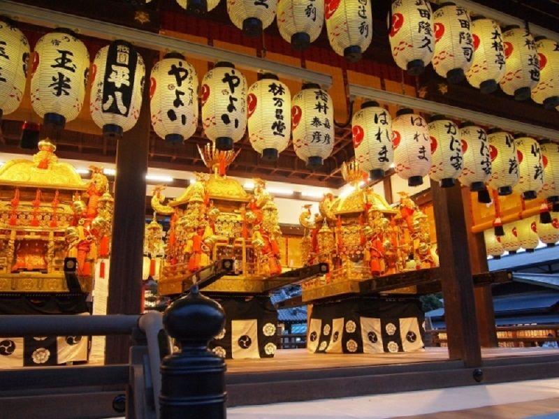 実は祇園祭りの主役!三基の神輿