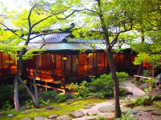 四季折々に素晴らしい日本庭園