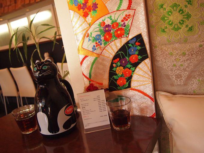 内装でも京都が味わえます