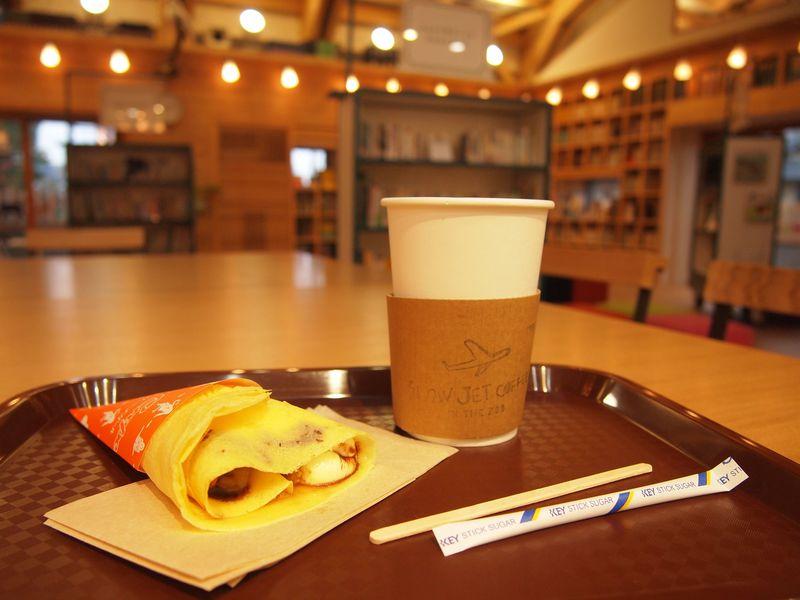 入園しなくても利用できる!京都市動物園「図書館カフェ」