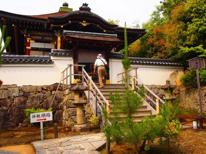 秀吉・北政所夫婦の愛の象徴「霊屋」