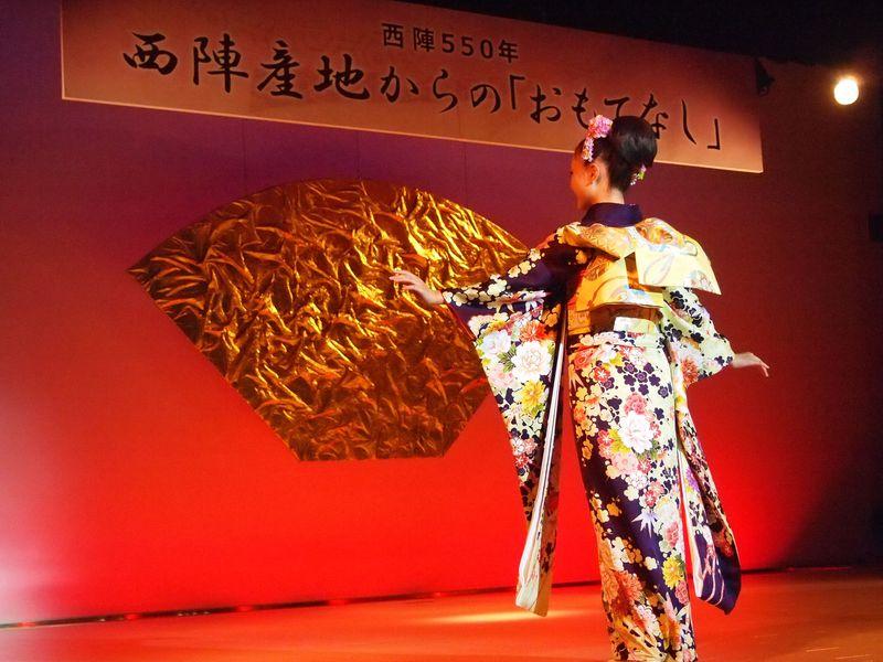 無料きものショーがリニューアル!京都「西陣織会館」