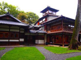 初公開!京都「旧三井家下鴨別邸」特別公開では望楼の見学も