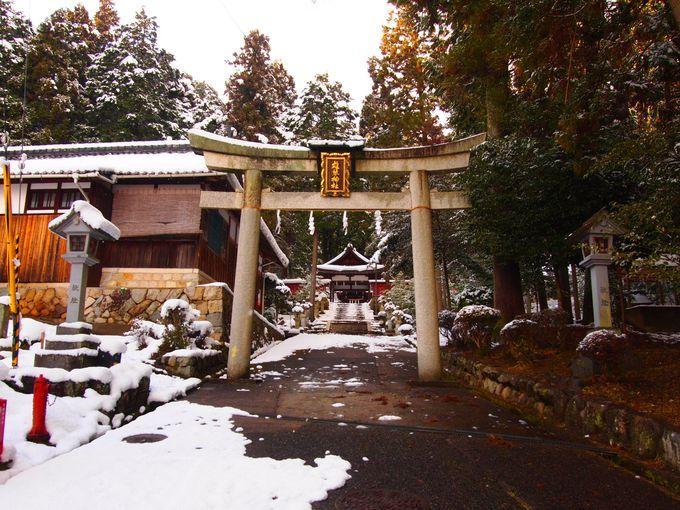 眺めも美しい!雄琴神社