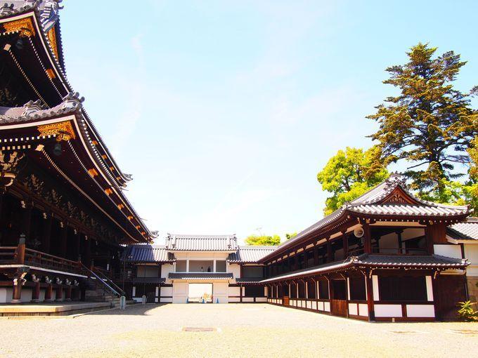 京都駅から至近距離!東本願寺