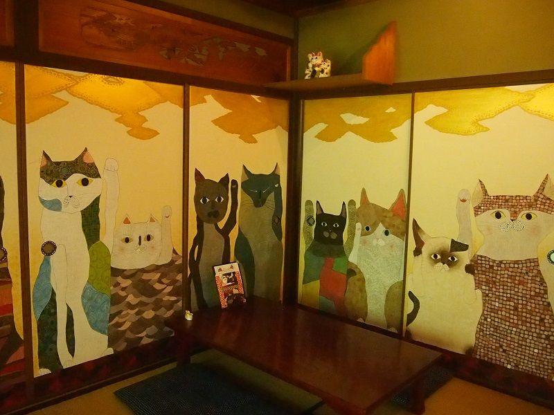 猫猫寺カフェ