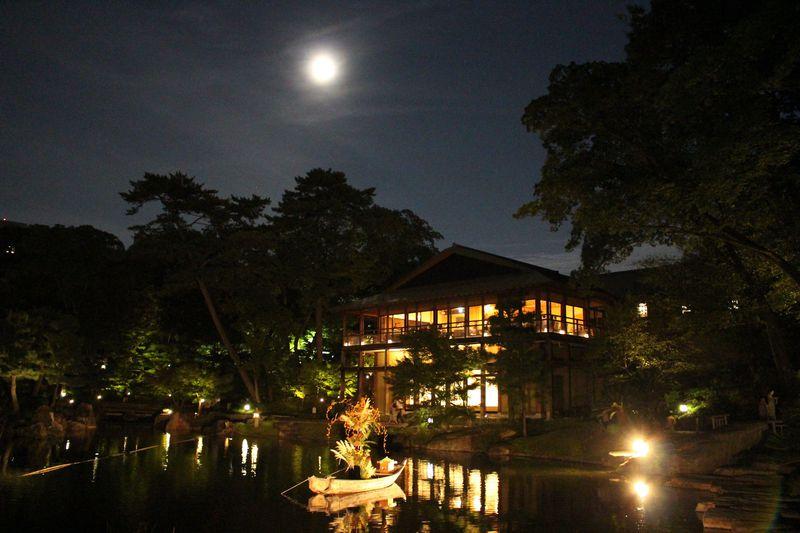 尾張徳川家ゆかりの庭園・名古屋「徳川園」はライトアップも美しい!