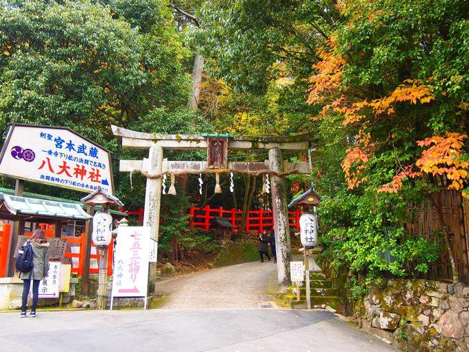 宮本武蔵ゆかり京都「八大神社」