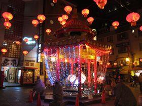 夜も素敵な神戸・南京町!冬の風物詩「ランターンフェア」