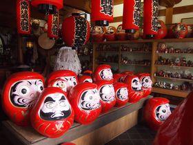 お庭やお茶室も個性的!だるまがイッパイ京都・だるま寺「法輪寺」