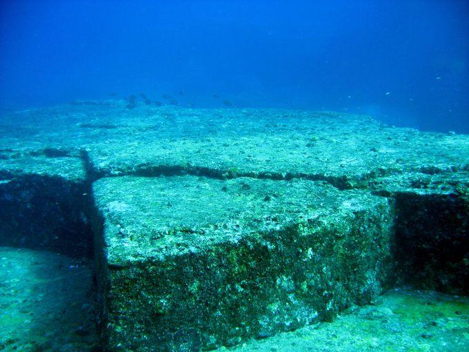 【楽しみ方6】ムー大陸の遺跡!? 海底遺跡を探検