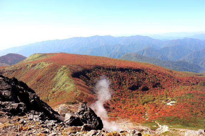 茶臼岳の山頂はまるで『天空世界』関東でも珍しい活火山に感動!