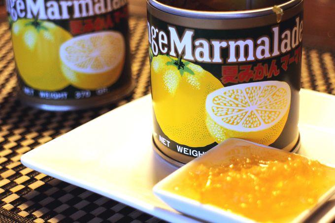 どこか懐かしい〜缶に入ったマーマレードは原材料が3つだけ!