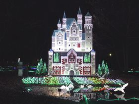 グリム童話の世界がイルミネーションに!下野市「グリムの森」にようこそ|栃木県|トラベルjp<たびねす>