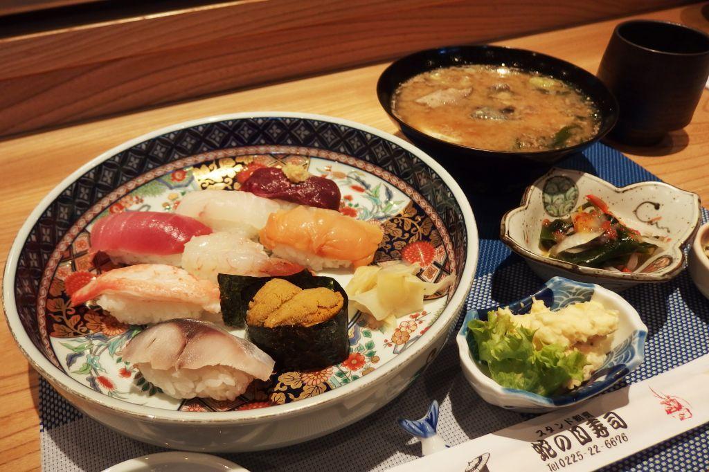 新鮮なネタだからクオリティは間違いなし!「金華寿司」を堪能