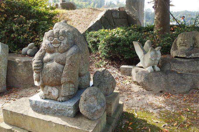 石文化運動公園&石文化伝承館を見学