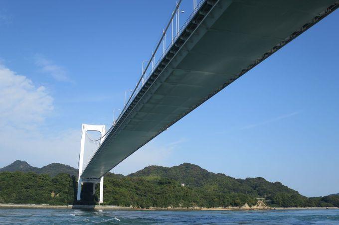 船も折れるほどの急流!?船折瀬戸と大島大橋のコントラスト