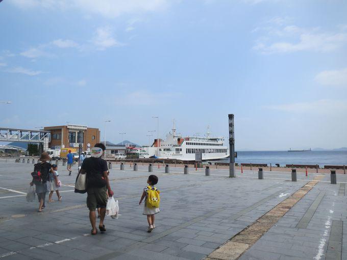 高松港はアクセス良好