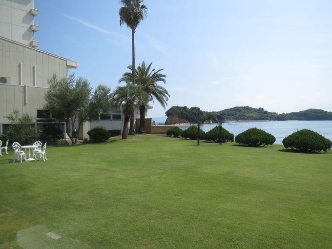 エンジェルロードが目の前!「小豆島国際ホテル」