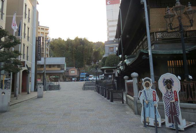 道後温泉本館とこんなにも近い「ホテル パティオ・ドウゴ」