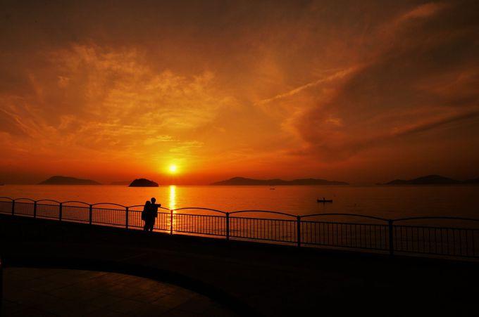 恋人の聖地「うたづ臨海公園」