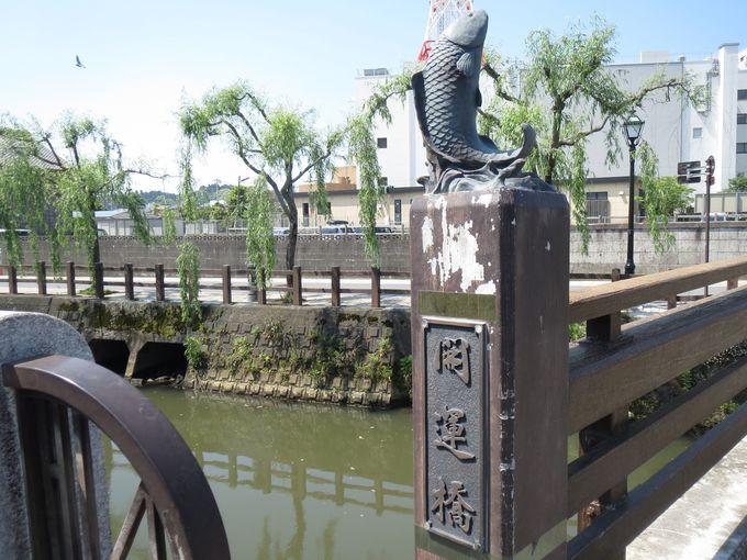 1.小江戸さわら 舟めぐり/開運橋