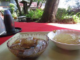 香川のパワースポット!伝説の霊泉と八十場「清水屋」のところてん