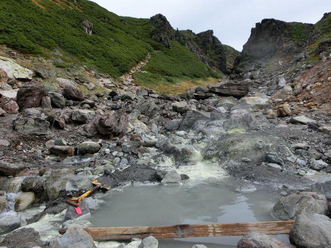 ワイルドな秘湯 中岳温泉