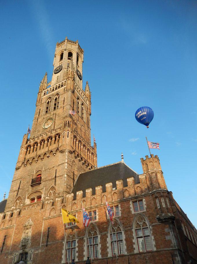 鐘楼ーカリヨン(組み鐘)の美しい音色が誘う中世への旅