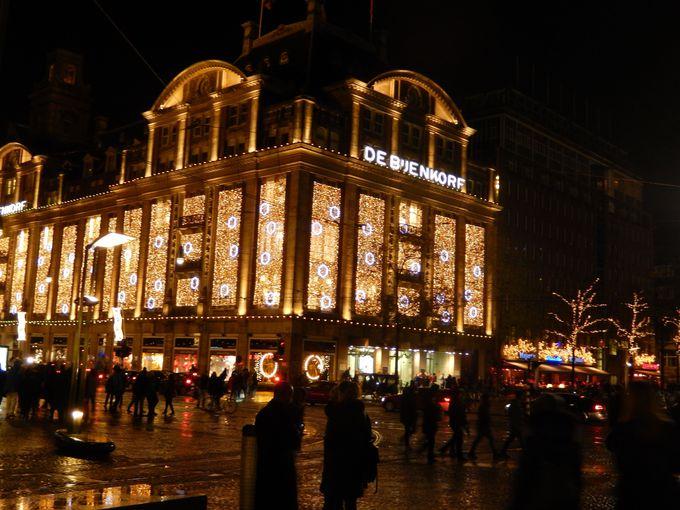 まぶしく輝く高級老舗デパート『デ・バイエンコルフ』で優雅にショッピング!