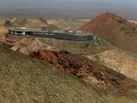 まるでSF世界!カナリア諸島ランサローテ島「ティマンファヤ国立公園」の壮大な火山地帯