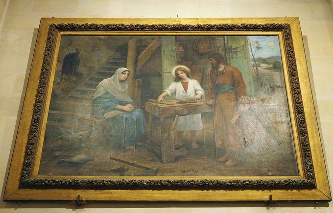 イエスが育った場所にある聖ヨセフ教会