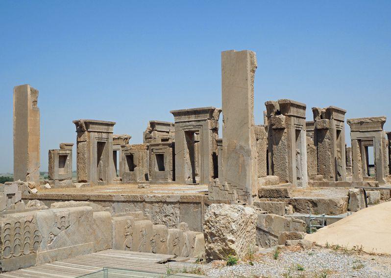 タチャラ(ダレイオス1世の宮殿)は王の居住区