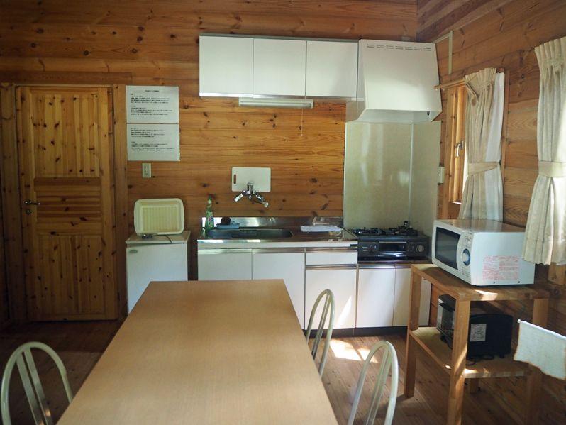 平谷湖コテージの部屋と設備