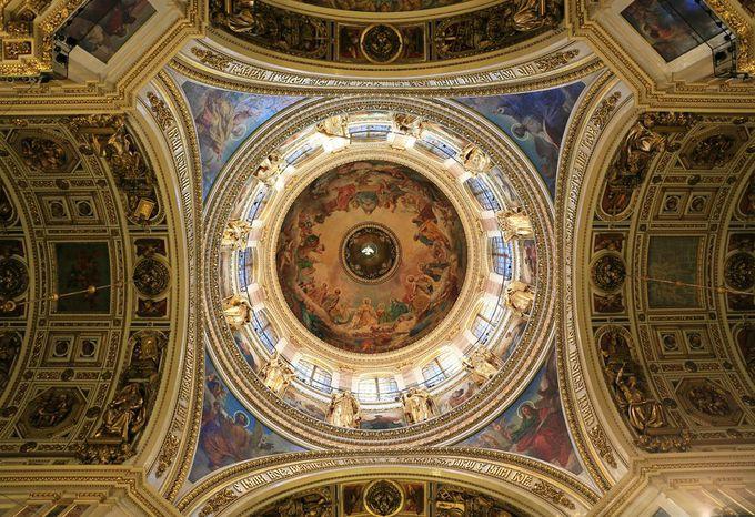 聖イサク大聖堂内部