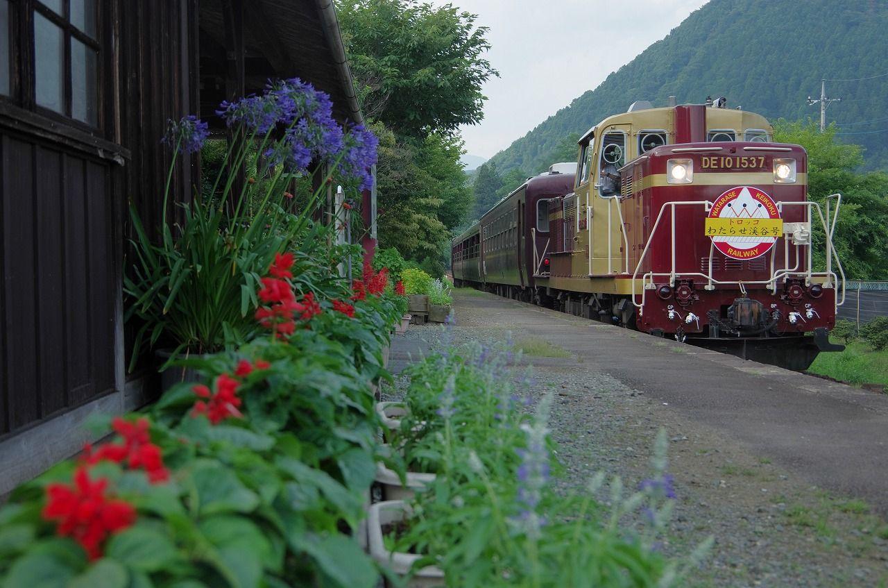 チビっ子も大喜び!トロッコ車両が可愛いローカル線「わたらせ渓谷鐵道」