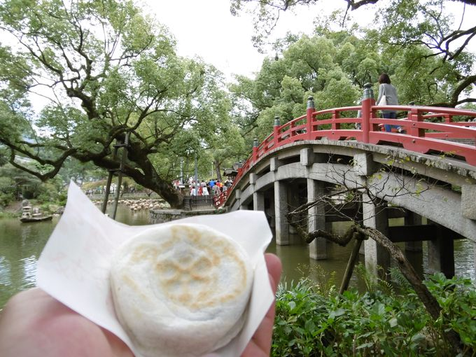太宰府散策には名物和菓子の「梅ヶ枝餅」を!