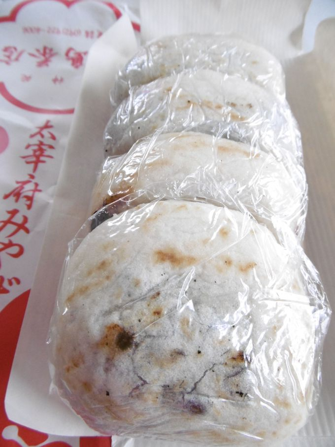 11.梅ヶ枝餅(松島茶店)