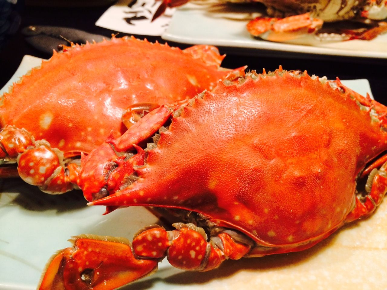一年を通して美味しい竹崎カニ!そんなカニ尽くしの料理に舌鼓。