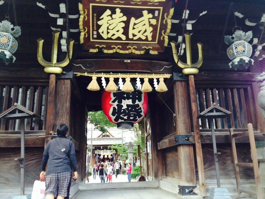 博多祇園山笠の奉納神社でおなじみ「櫛田神社」