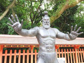 福岡「住吉神社」で浄化&開運祈願!強面な力士像も迫力満点