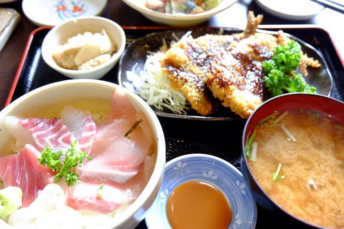 ぷりっぷり!旬の魚たっぷり海鮮丼の定食