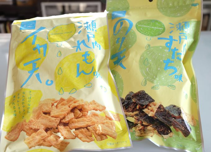 瀬戸内レモン味イカ天にかき醤油!広島駅で買える旬の広島土産