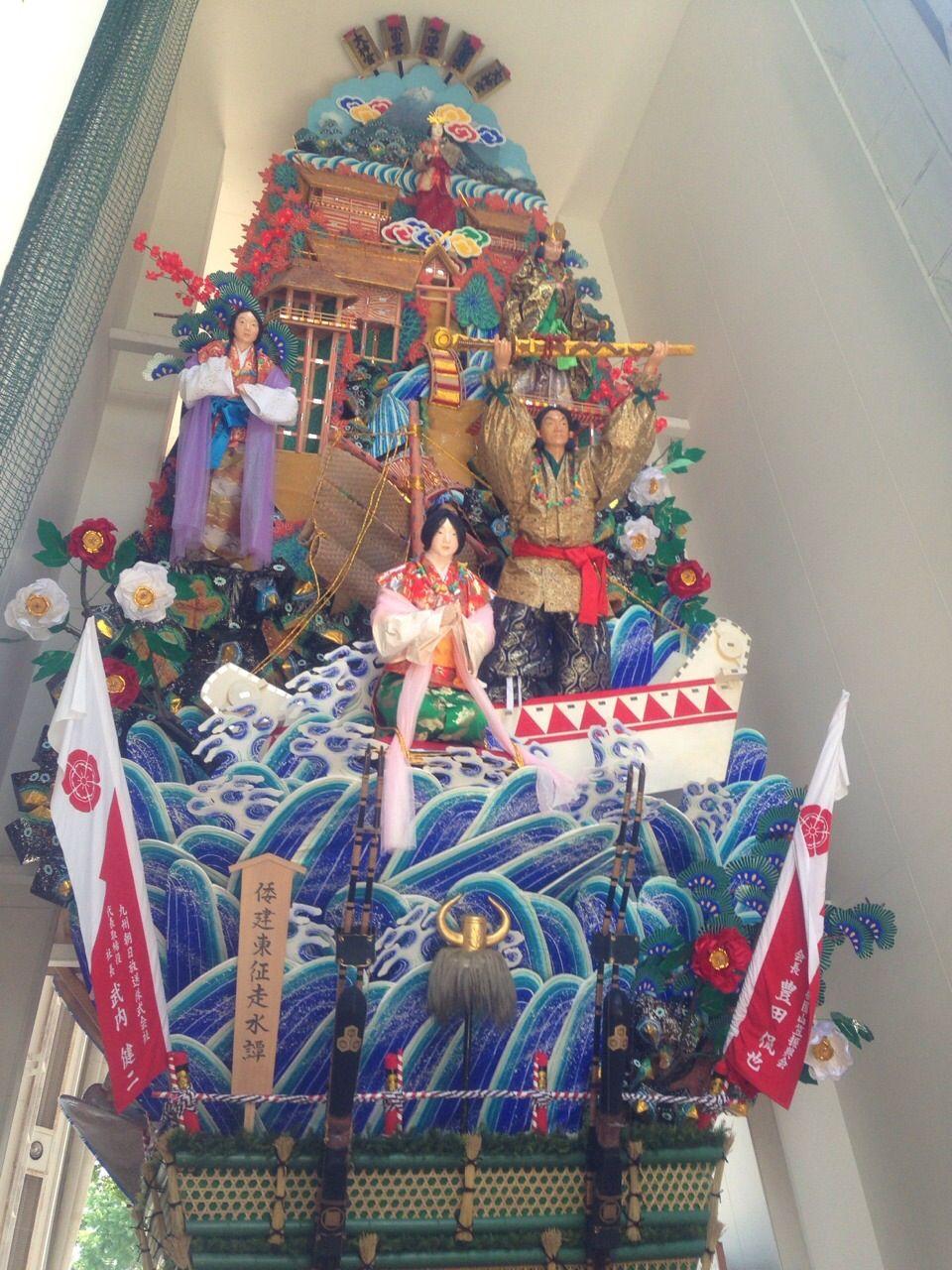 博多三大祭り・博多祇園山笠としても有名な「櫛田神社」。