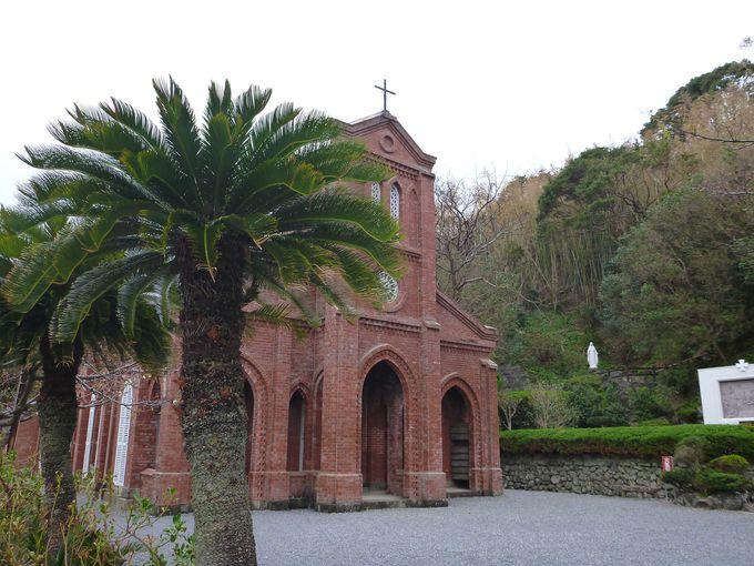 福江島を代表する堂崎教会
